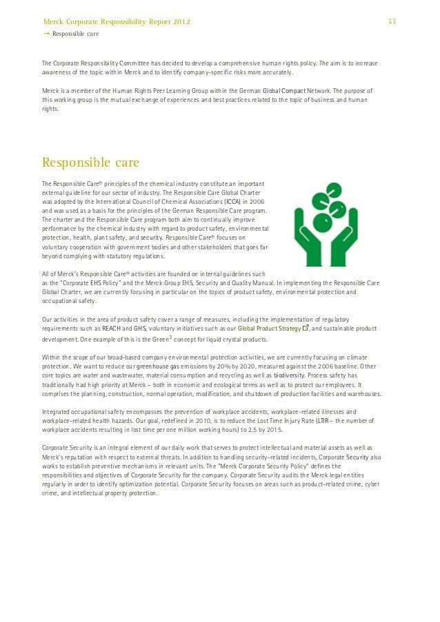 10 11 merck corporate responsibility