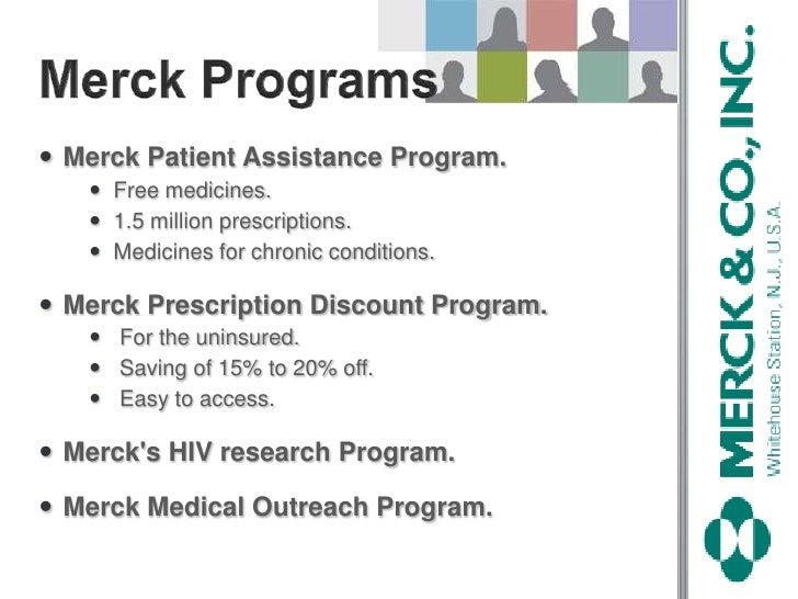 Merck presentation.