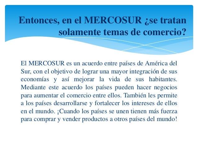 Mercosur presentación final Slide 3