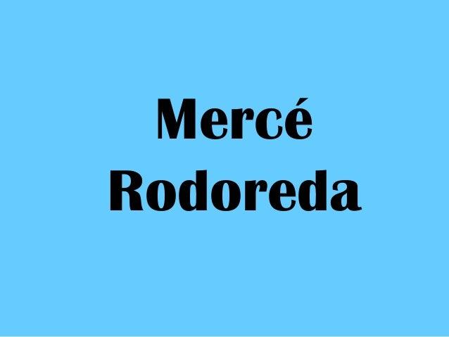 Mercé Rodoreda