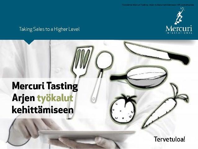 Tiivistelmä Mercuri Tasting: Arjen työkalut kehittämiseen HR-workshopista