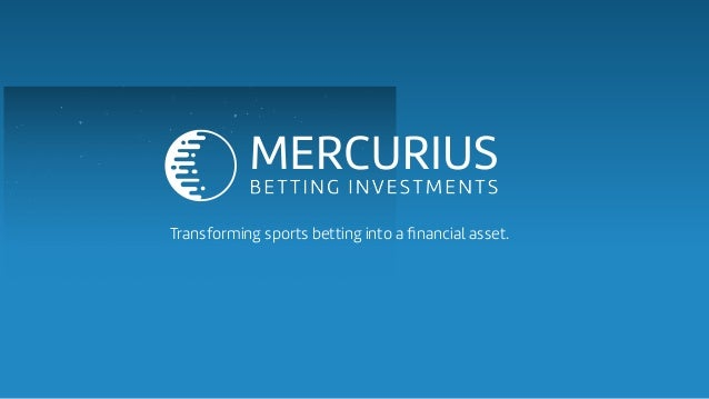 Transforming sports betting into a financial asset.