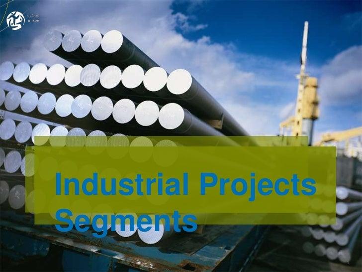 Industrial ProjectsSegments                      1