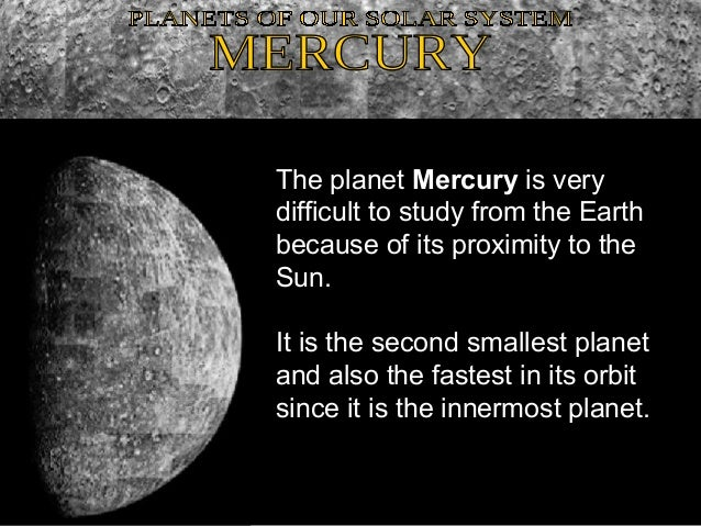 What is the Weather Like on Mercury?