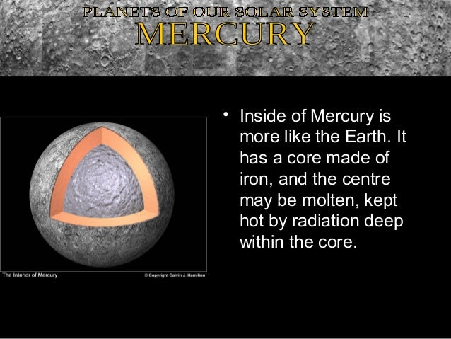 inside planet mercury - photo #15