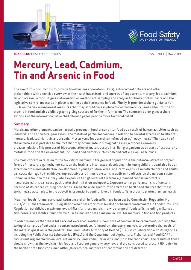 a study of the effects of mercury and arsenic toxicity About mercury and arsenic how am i exposed arsenic - arsenic-treated wood was extremely widely used before manufacturers agreed to phase it out solid-waste and medical-waste incinerators should be shut down and replaced with waste and toxicity reduction, reuse, recycling, and.