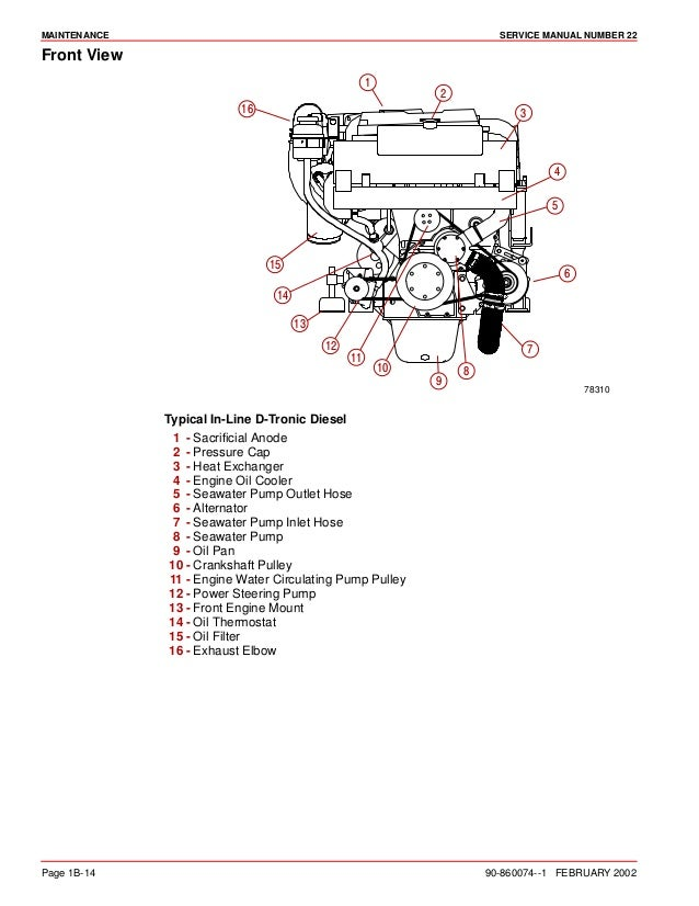 Mercury 4 6 Engine Diagram