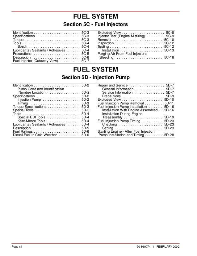 Mercury mercruiser marine engine in line diesel d4 2 l d