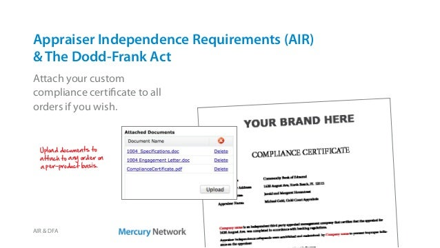 Mercury Network compliance tools