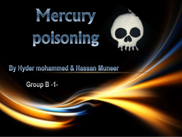 Mercury poisoning (also known as hydrargyria or mercurialism) is a disease caused by exposure to mercury or its compounds....