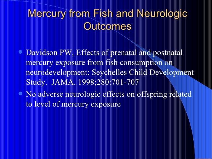 Toxicology mercury poisoning and fish anatomy