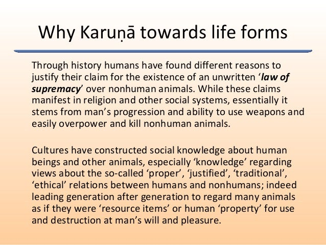 Through history humans have found different reasons to justify their claim for the existence of an unwritten 'law of supre...