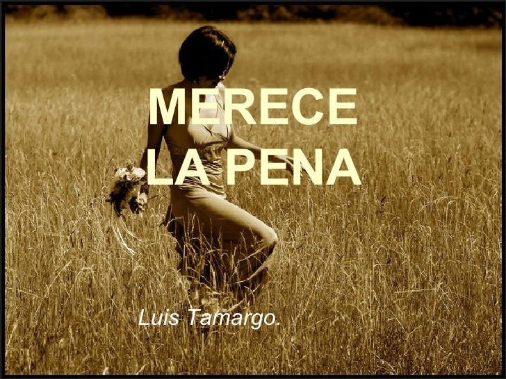 MERECELA PENA Luis Tamargo.