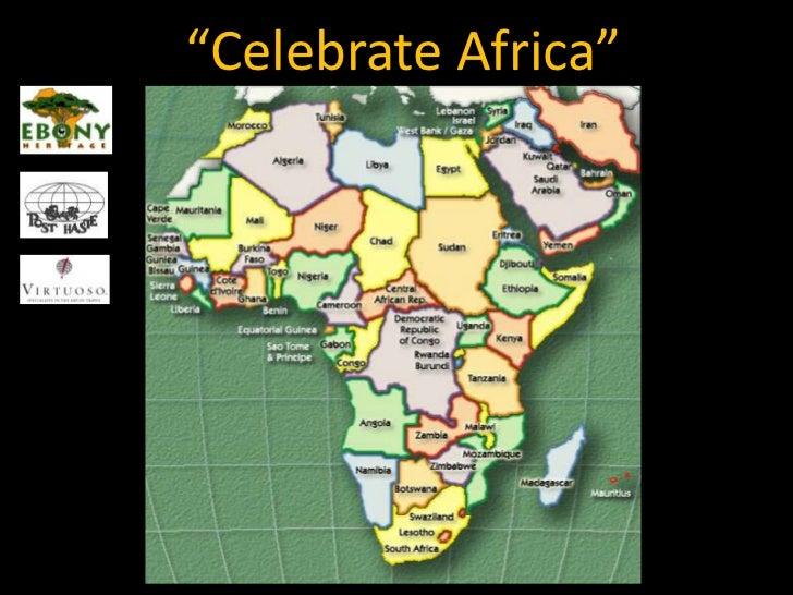 """""""Celebrate Africa""""<br />"""