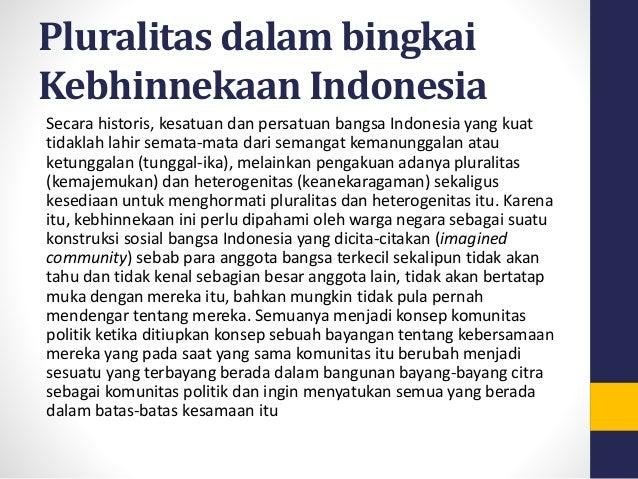 essay pluralitas sebagai pemersatu bangsa indonesia