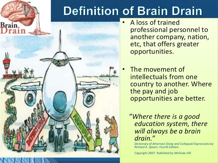 Brain drain problem solution essay