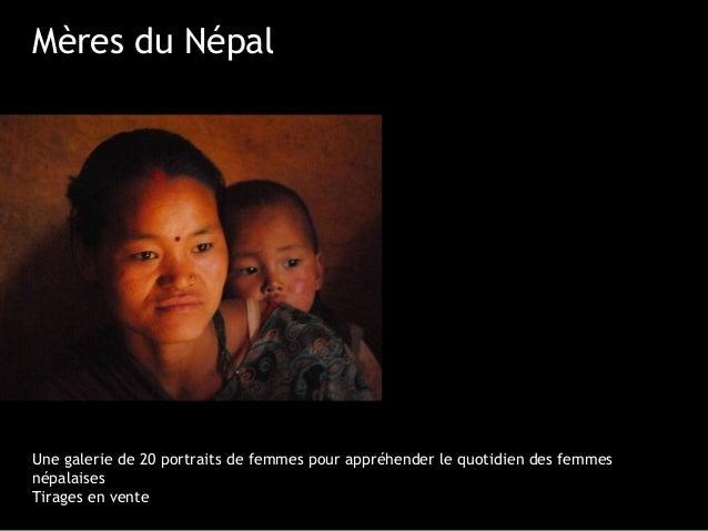 Mères du NépalUne galerie de 20 portraits de femmes pour appréhender le quotidien des femmesnépalaisesTirages en vente