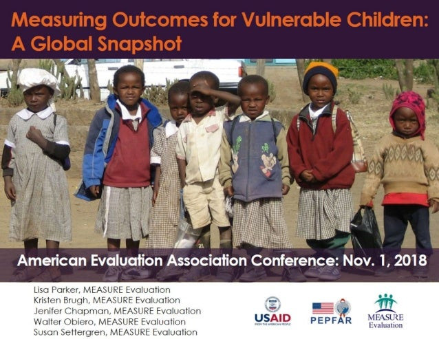 Measuring Outcomes for Vulnerable Children: A Global Snapshot