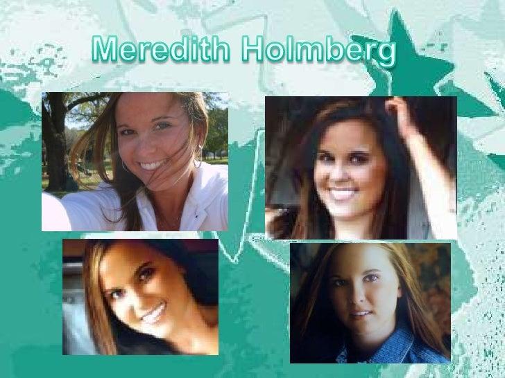 Meredith Holmberg<br />
