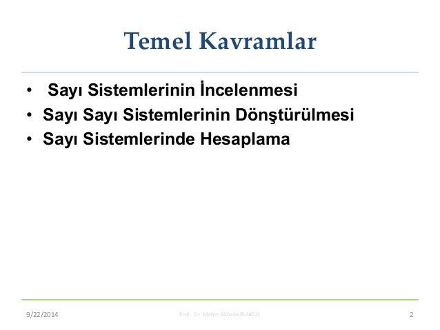 Mantık Devreleri Slide 2