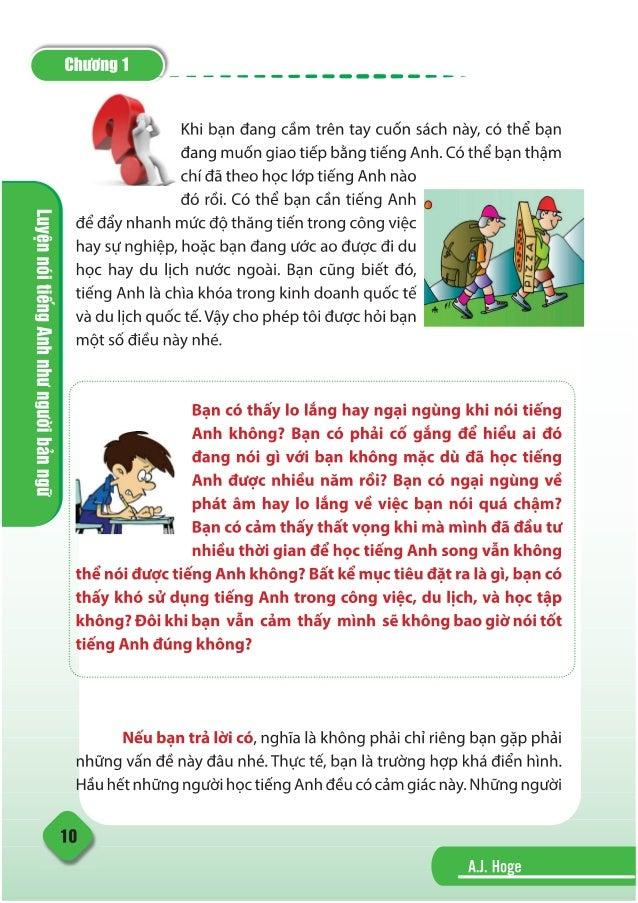 Đọc thử - Luyện nói Tiếng Anh như người bản ngữ