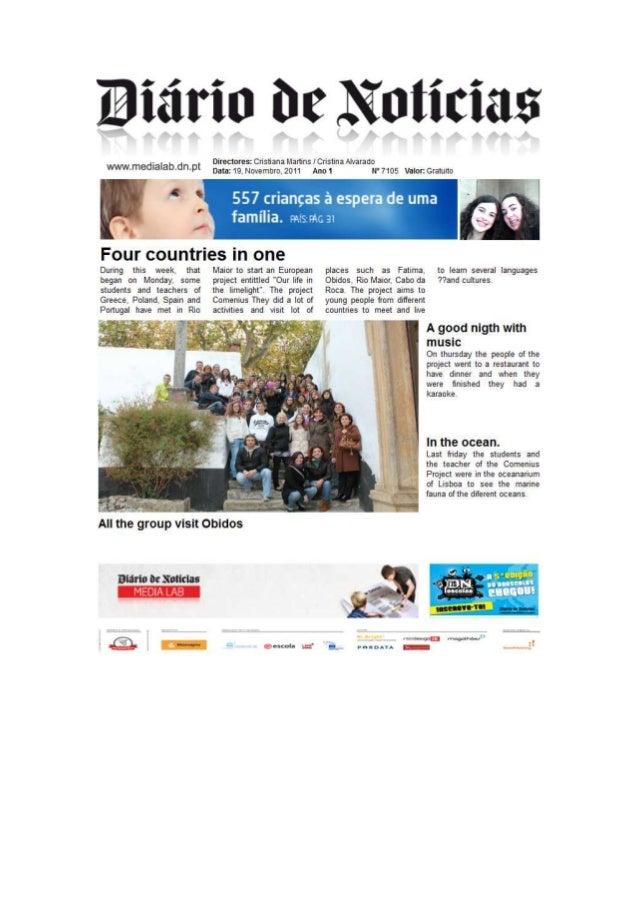 MAG.com at Diário de Notícias workshop in Lisbon