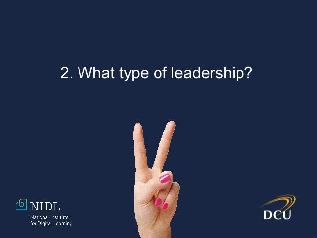3. Cases of leadership in action