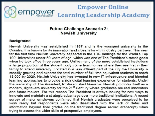 Leading in Changing Times: Case Studies in Strategy and Policy Development