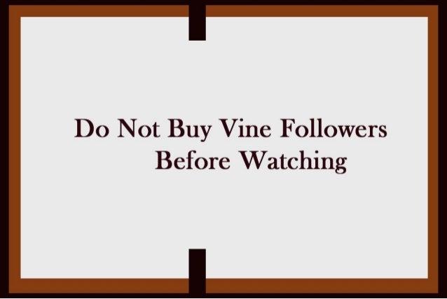 How to Buy Vine Followers?