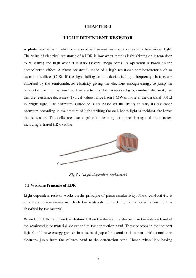 laser security alarm thesis