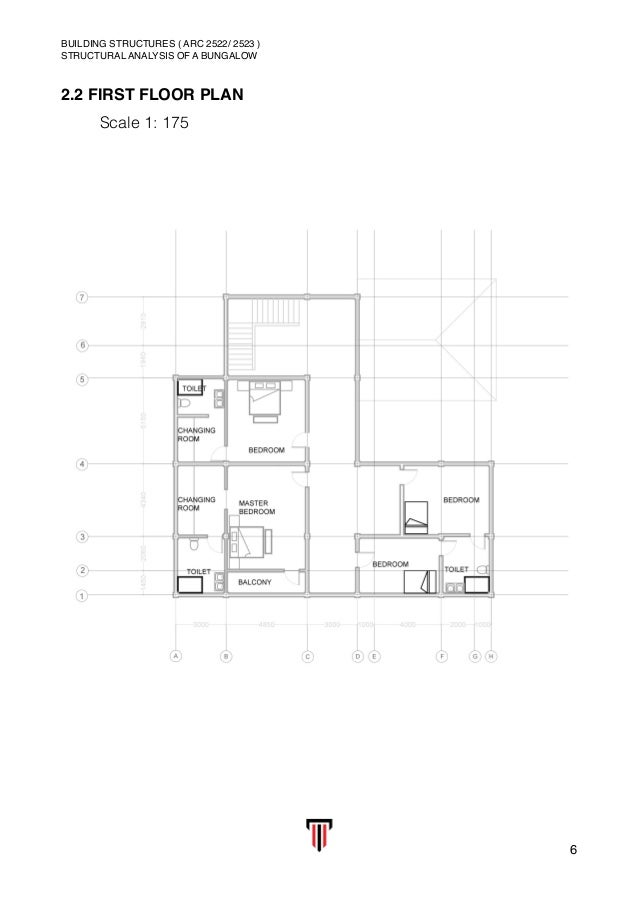 Building Structure Structural Analysis Of A Bungalow