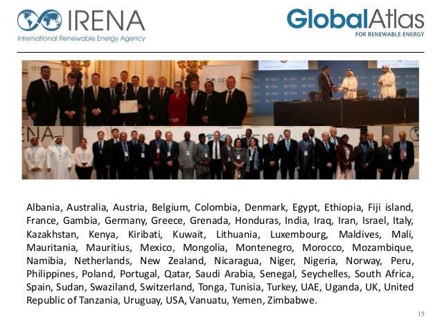 Global Atlas Training On Planning The Renewable Energy