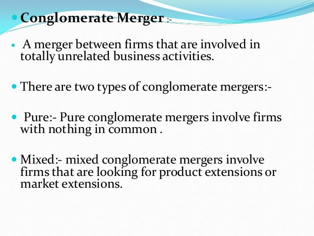 merger types with examples Mergers and types of mergers by jagadish k s r14mb019 school of commerce and management.