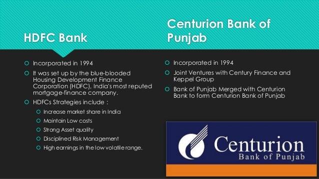 centurion bank Merger