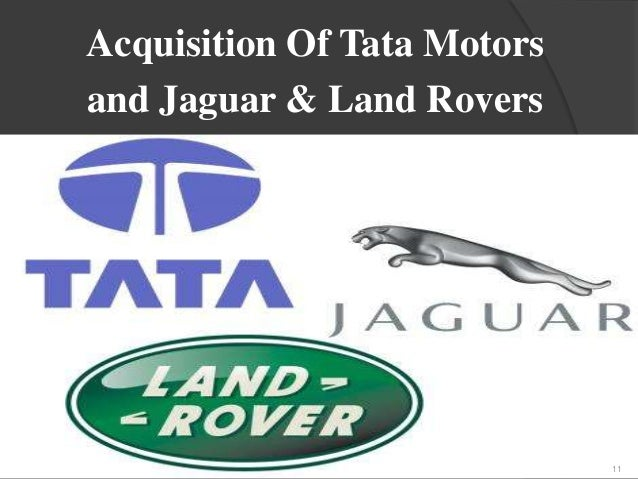 merger and acquisition tata motors