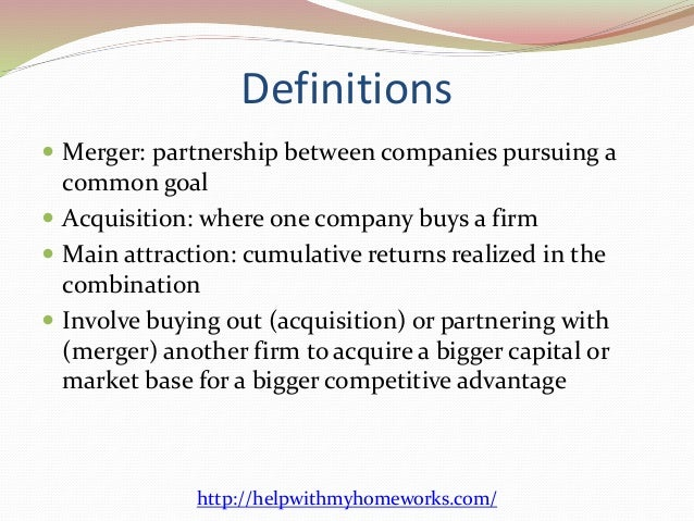 tax benefits of mergers and acquisitions