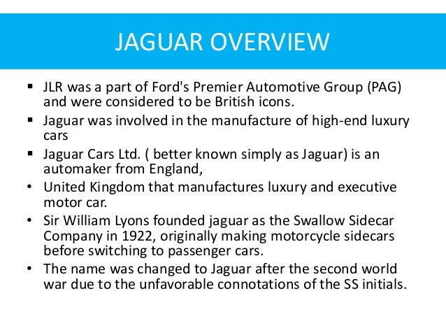 Tata Motors completes acquisition of Jaguar Land Rover