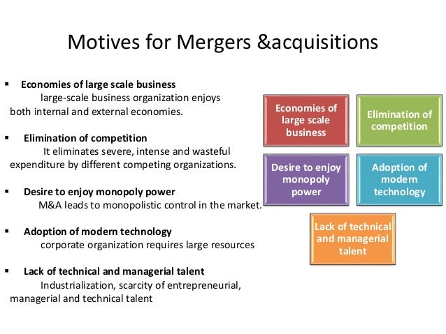 reasons and motives for mergers 3 incorrect the following reasons are good motives for mergers except a from finance fnce3000 at curtin university sarawak.