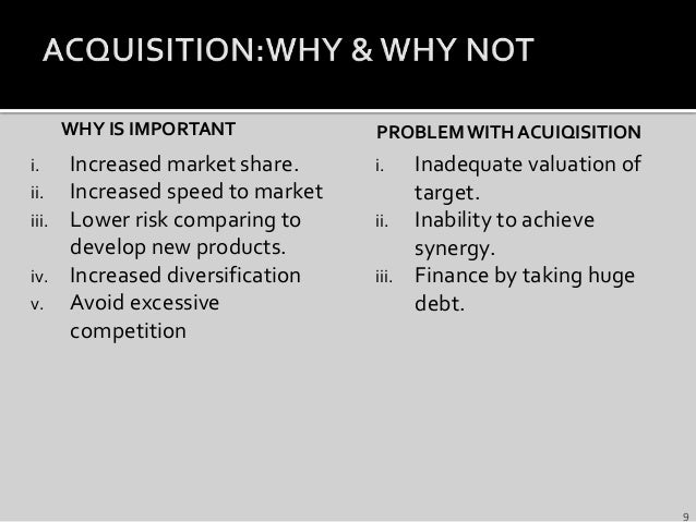 Merger & acquisition with case study Slide 9