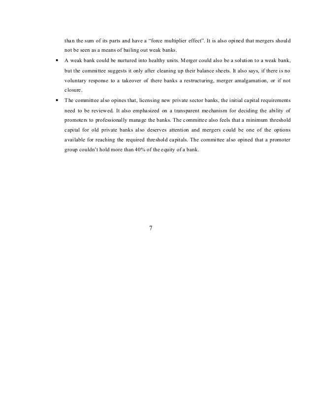 Mergers and acquisitions in indian banking sector 13 than altavistaventures Image collections