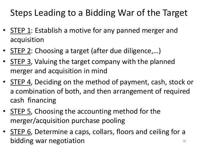 creating shareholder value for merger and acquisitions Shareholder value in many cases, these takeovers are negative net-present- value (npv) projects that decrease, rather than increase, shareholder wealth do takeovers create or destroy examining unsuccessful takeover attempts for new evidence on whether mergers create or destroy value for acquirers.