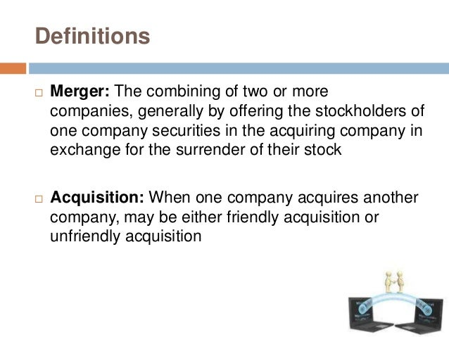 Synergy of M & A