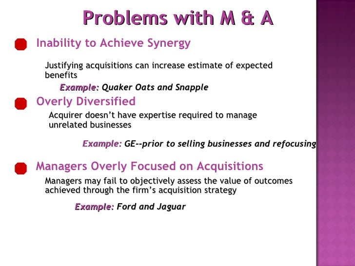 merger and aquisition Mergers and acquisitions are both changes in control of companies that involve combining the operations of multiple entities into a single company in a merger, two companies agree to combine.