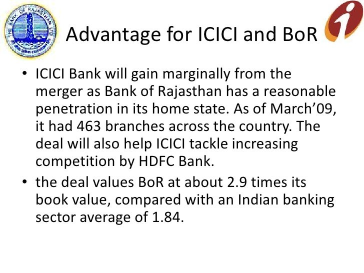 Bank of Rajasthan to merge with ICICI Bank