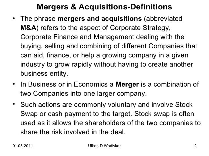 Mergers acquisitions for mba mergers acquisitions definitions fandeluxe Gallery