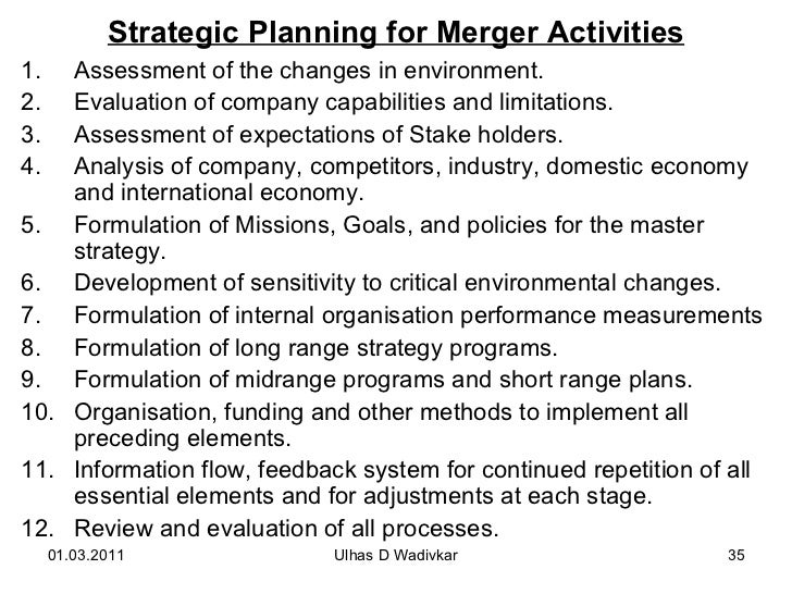 Mergers Acquisitions For Mba