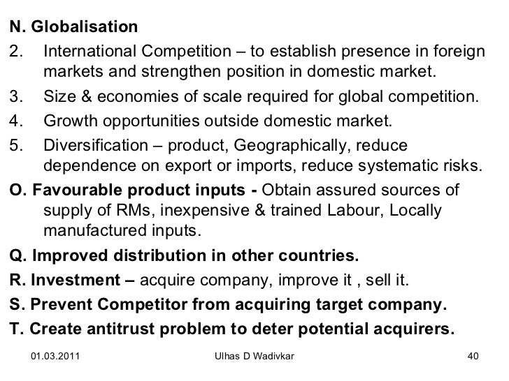 Merger, Acquisition and International Strategies Mergers, Acquisitions&nbspEssay
