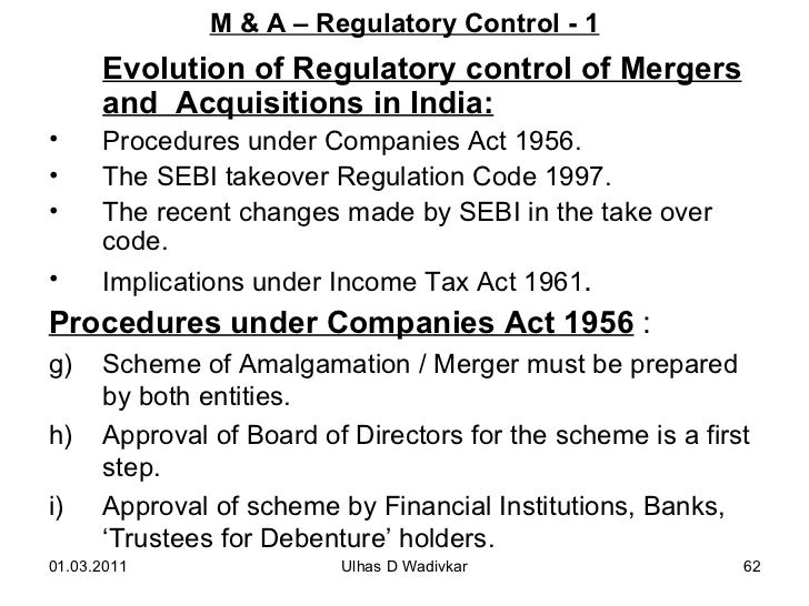 Mergers acquisitions for mba wadivkar 62 fandeluxe Gallery