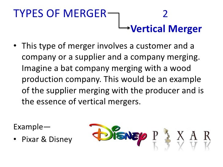 disney company horizontal and vertical integration
