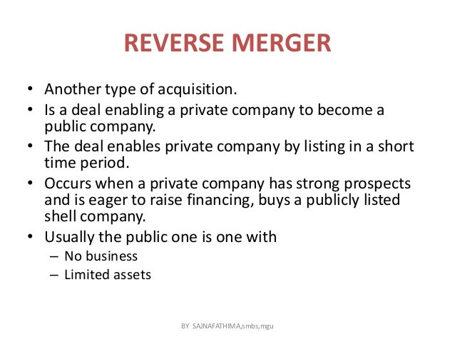 Mergers acquisitions and takeovers